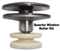 1971-1976 full size GM rear quarter window V-roller repair kit