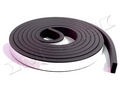 "Universal self adhesive weatherstrip 3/4"" wide by 5/16"" thick and 10 feet long. Free shipping!"