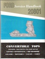 1962-1964 Ford convertible top service manual