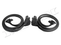 1984-1989 Chevrolet Corvette door seals, pair