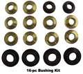 Top frame bushing kit for 1971-76 GM scissor top cars