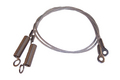 1991-1993 Dodge Shadow convertible top hold down tension cables, pair.