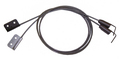 2000-2005 Mitsubishi Eclipse Spyder convertible top hold down tension cables, pair.