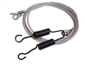 1965-1970 Buick, Oldsmobile and Cadillac 'C' body convertible top hold down tension cables, pair.